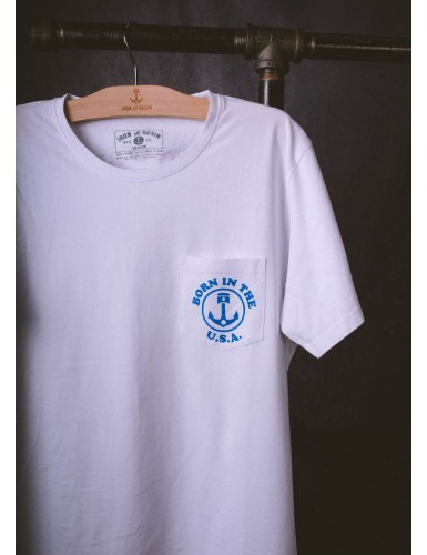 RIDE FREE TEE HOMME BLANC T-M