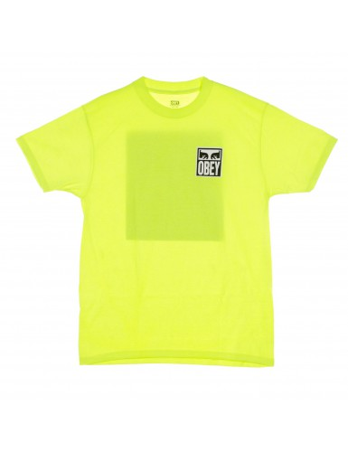 EYES ICON 2 SAFETY GREEN T-S