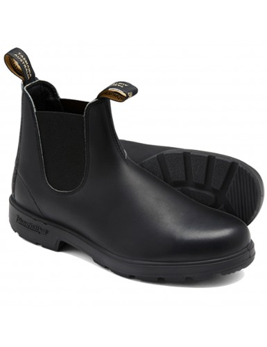 ELASTIC SIDED BOOT LINED VOLTAN BLACK T-42