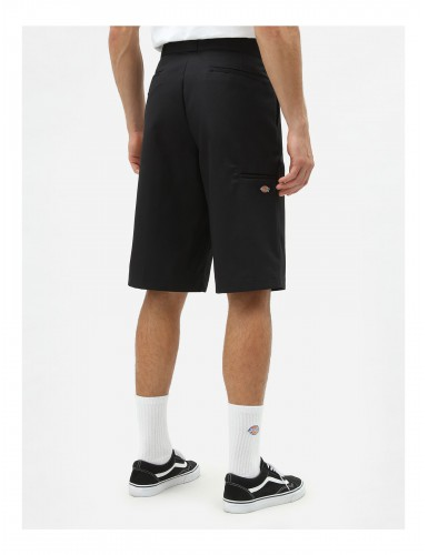 TWILL WORK SHORT LOOSE FIT 34 BLK